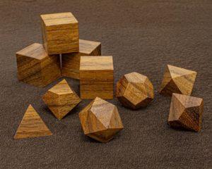 Tzlam Walnut Polyhedral