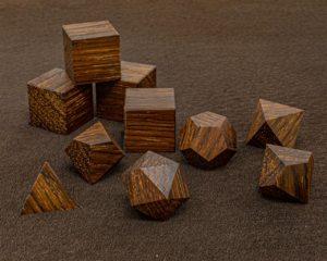 Yucatan Rosewood Polyhedral