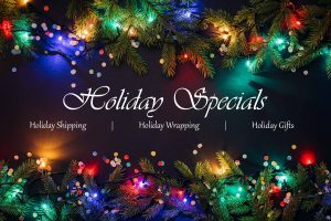 List of Holiday Specials - Grift Wrappings, Free Shipping, Sales
