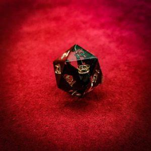 Black Rose d20 Single Square